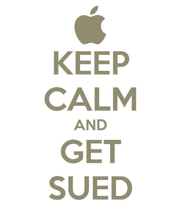 KEEP CALM AND GET SUED