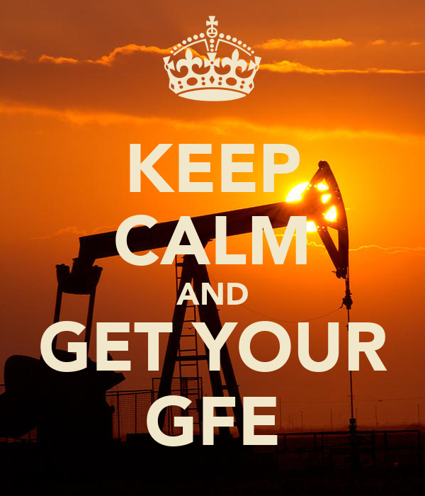 KEEP CALM AND GET YOUR GFE