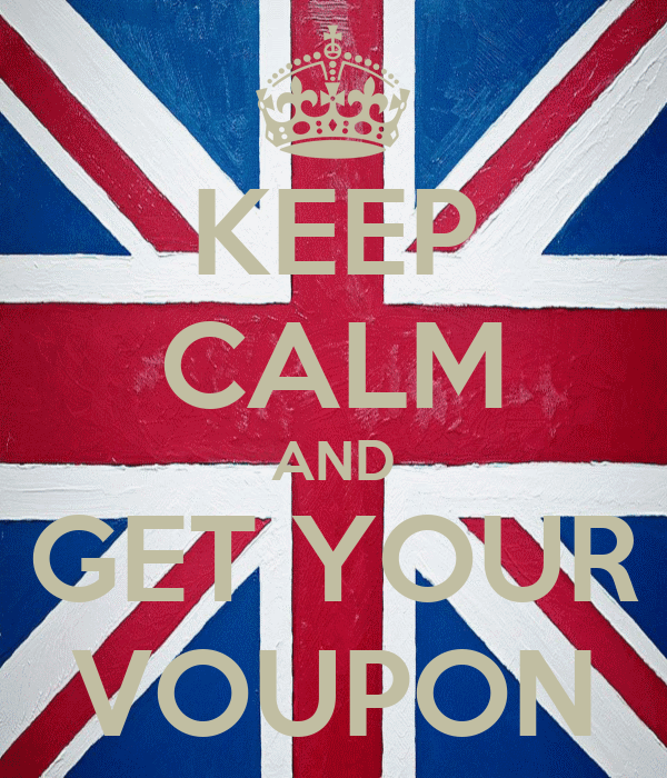 KEEP CALM AND GET YOUR VOUPON