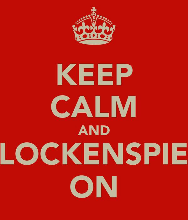 KEEP CALM AND GLOCKENSPIEL  ON