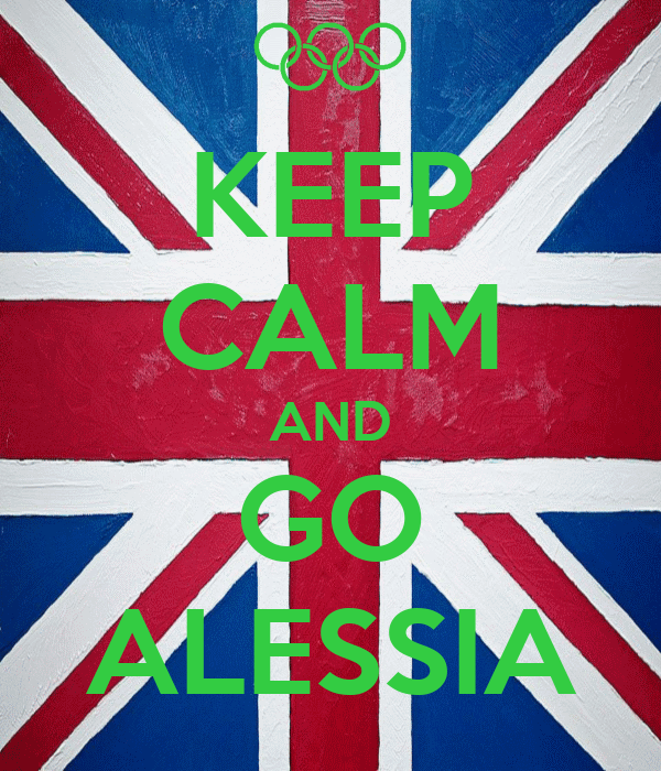 KEEP CALM AND GO ALESSIA