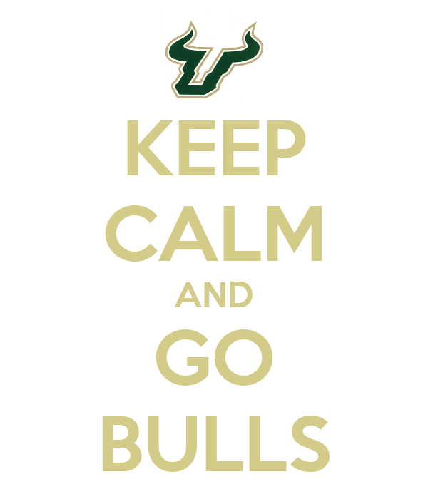 KEEP CALM AND GO BULLS