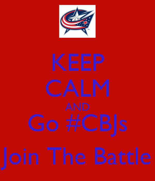 KEEP CALM AND Go #CBJs Join The Battle