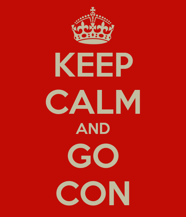 KEEP CALM AND GO CON
