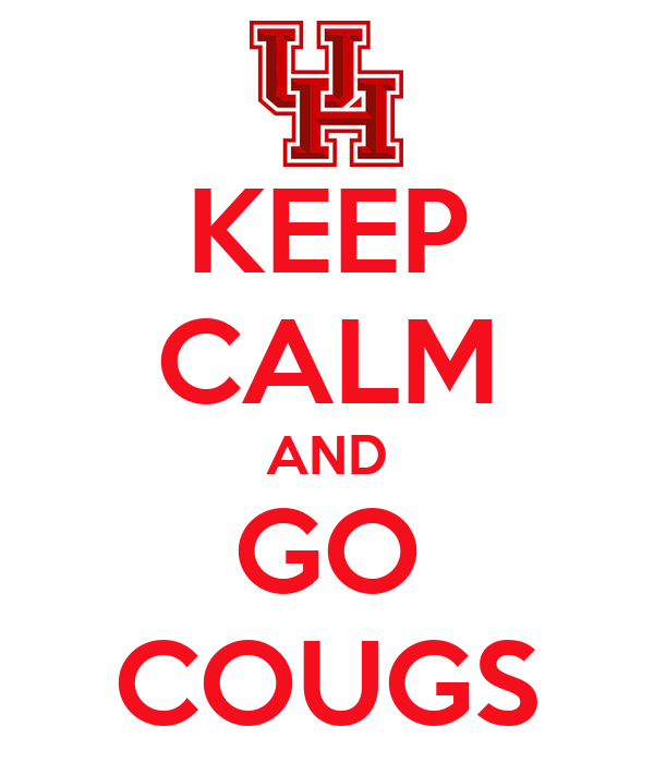 KEEP CALM AND GO COUGS