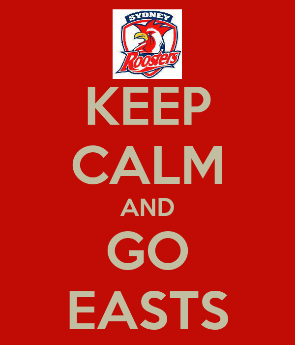 KEEP CALM AND GO EASTS