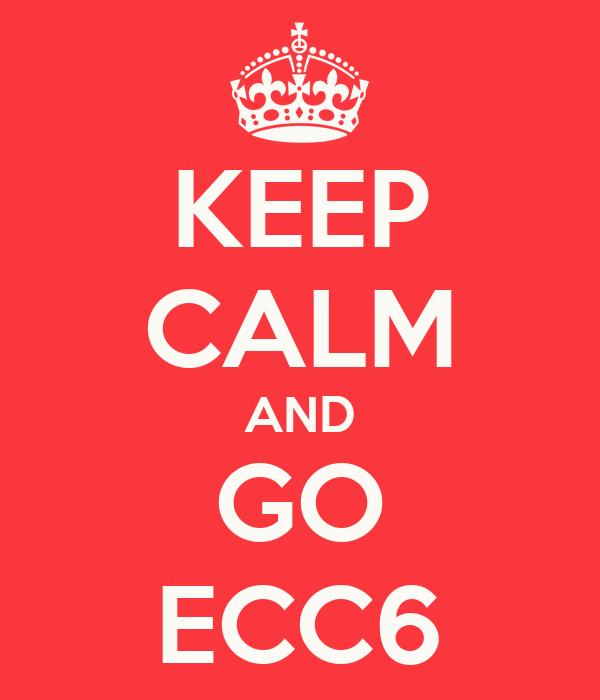 KEEP CALM AND GO ECC6