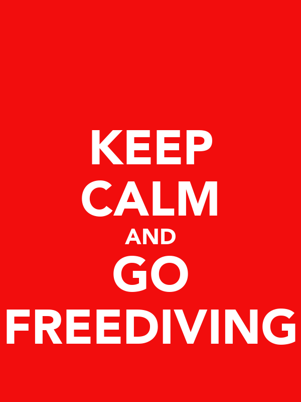 KEEP CALM AND GO FREEDIVING
