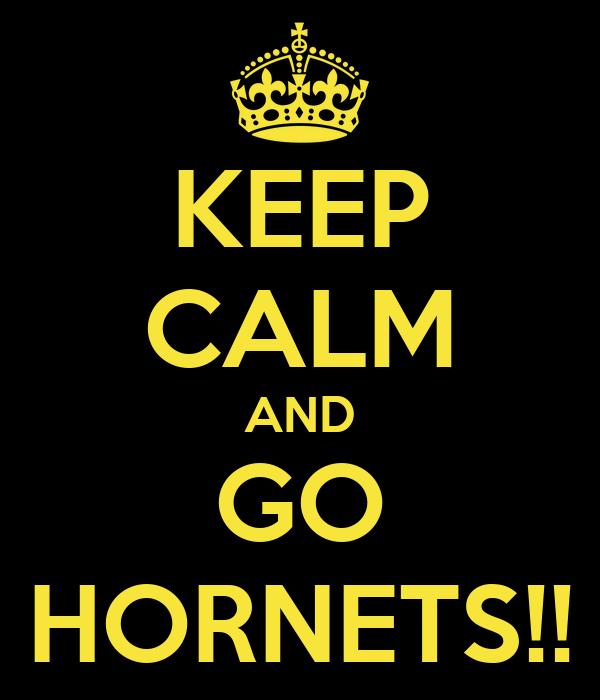 KEEP CALM AND GO HORNETS!!