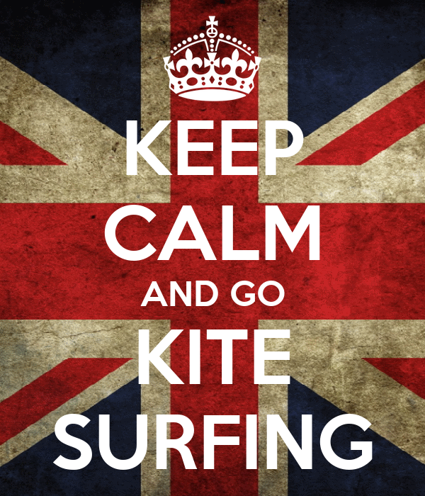 KEEP CALM AND GO KITE SURFING