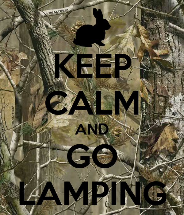 KEEP CALM AND GO LAMPING