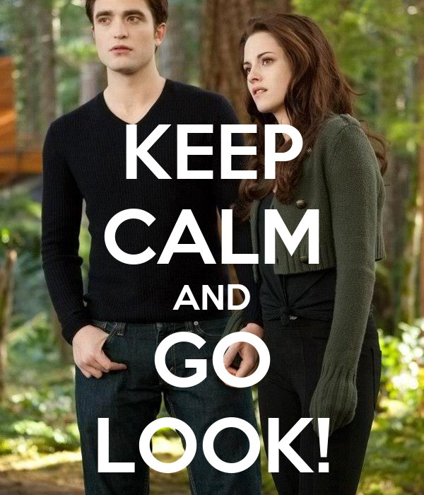 KEEP CALM AND GO LOOK!
