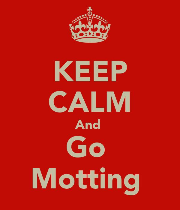 KEEP CALM And  Go  Motting
