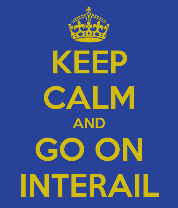 KEEP CALM AND GO ON INTERAIL