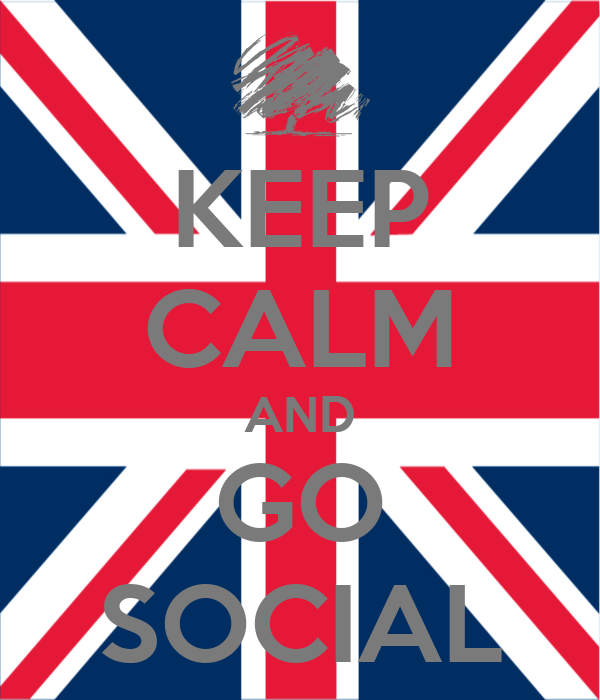 KEEP CALM AND GO SOCIAL