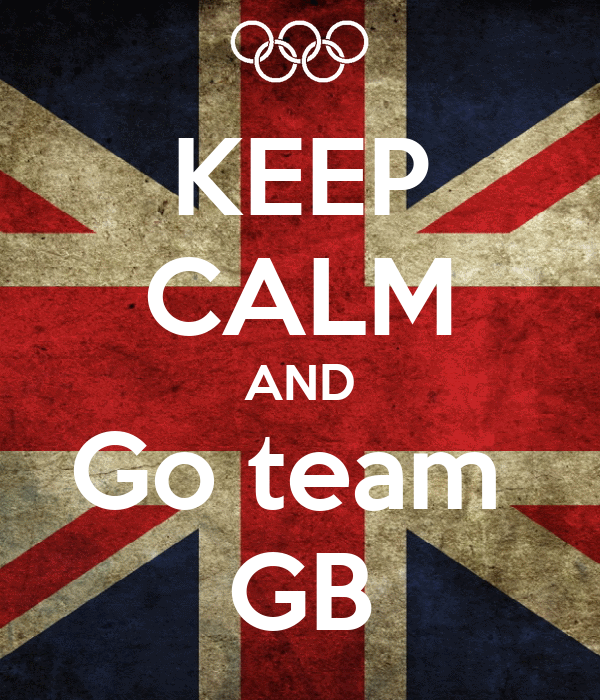 KEEP CALM AND Go team  GB