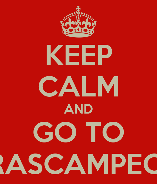 KEEP CALM AND GO TO CHURRASCAMPEONATO