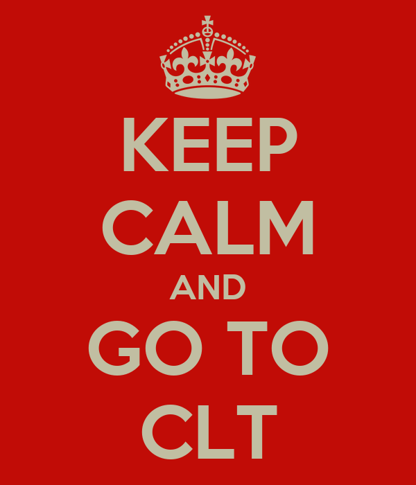 KEEP CALM AND GO TO CLT