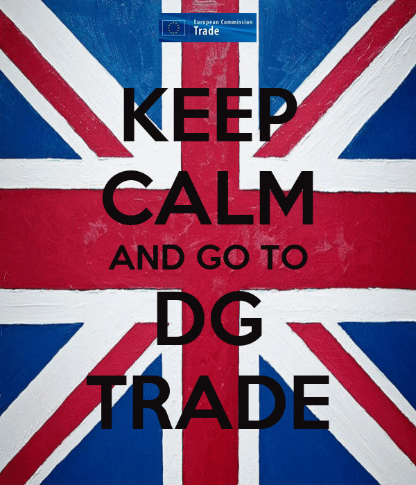 KEEP CALM AND GO TO DG TRADE