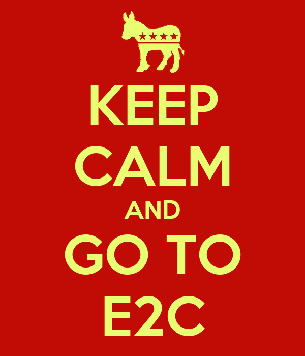 KEEP CALM AND GO TO E2C