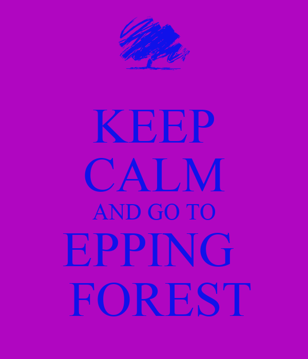 KEEP CALM AND GO TO EPPING   FOREST