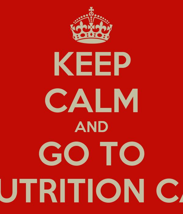 KEEP CALM AND GO TO FLEX NUTRITION CANOAS