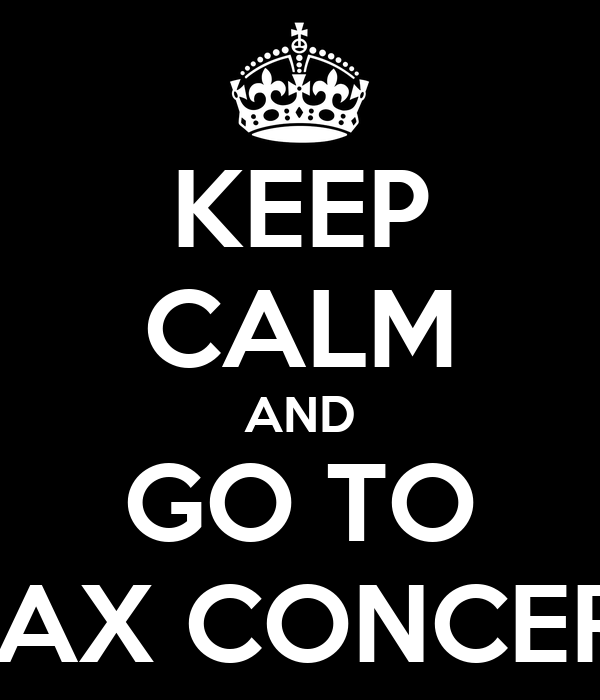 KEEP CALM AND GO TO J-AX CONCERT