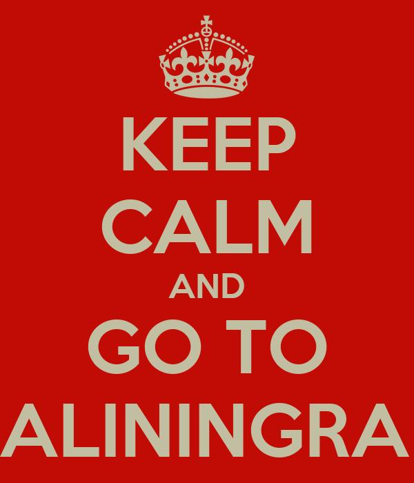 KEEP CALM AND GO TO KALININGRAD