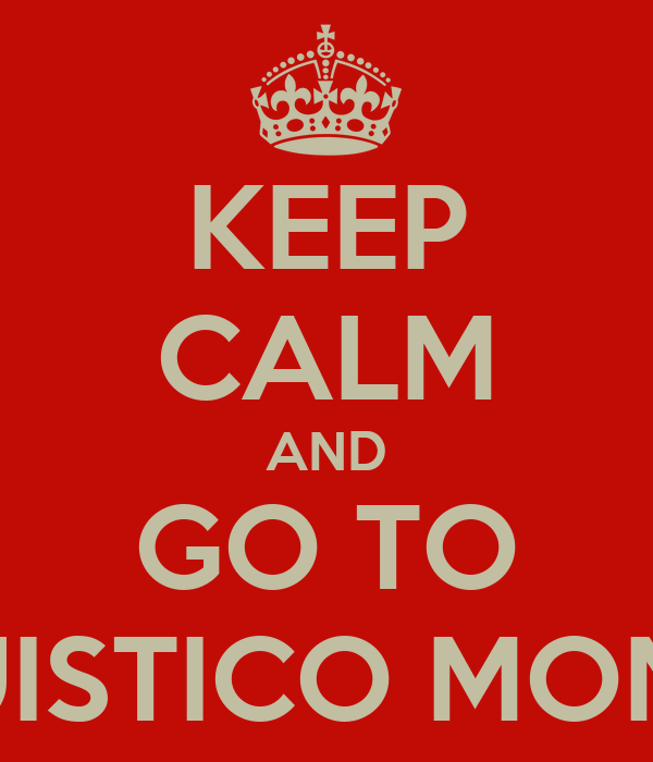 KEEP CALM AND GO TO LINGUISTICO MONTALE