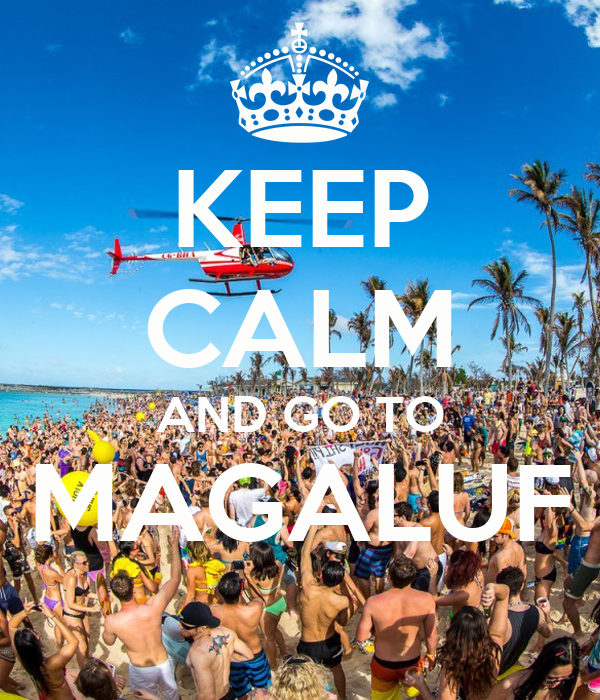 KEEP CALM AND GO TO MAGALUF