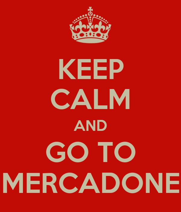 KEEP CALM AND GO TO MERCADONE