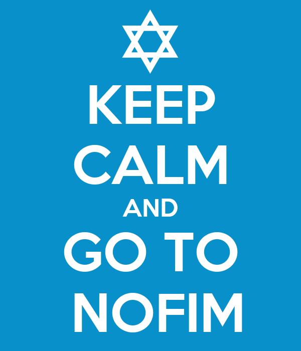 KEEP CALM AND GO TO  NOFIM