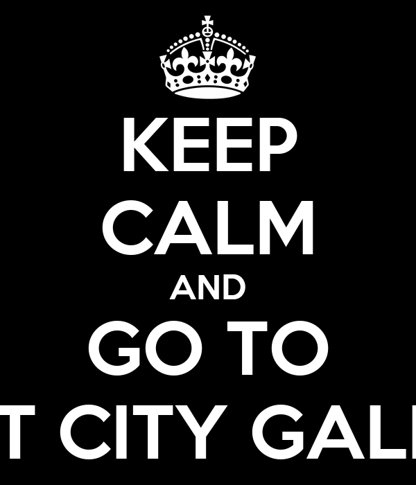 KEEP CALM AND GO TO SPORT CITY GALERIAS