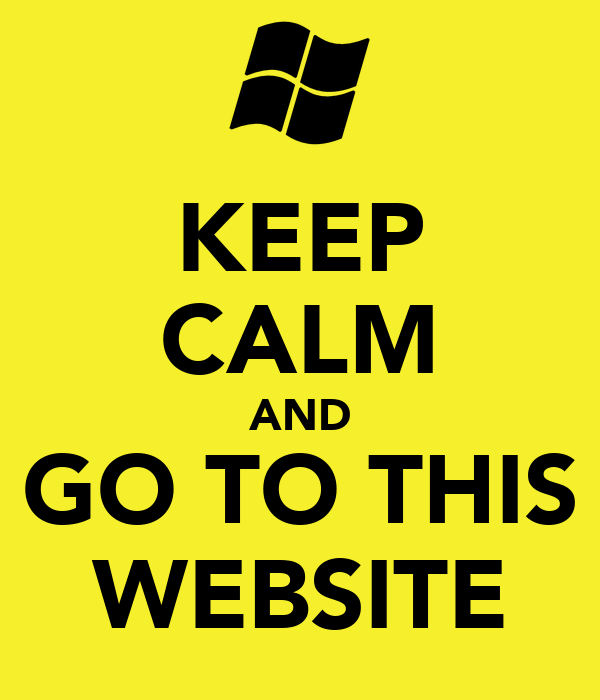KEEP CALM AND GO TO THIS WEBSITE