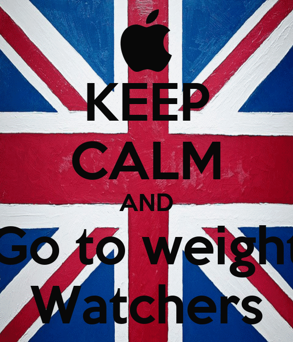 KEEP CALM AND Go to weight Watchers
