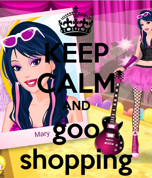 KEEP CALM AND goo shopping