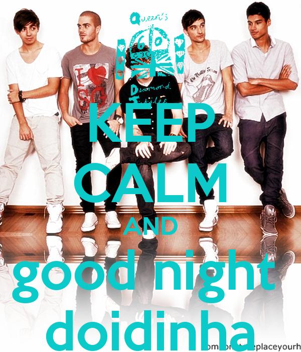 KEEP CALM AND good night  doidinha