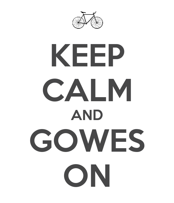 KEEP CALM AND GOWES ON