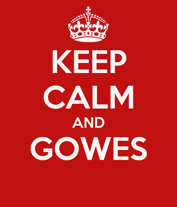 KEEP CALM AND GOWES