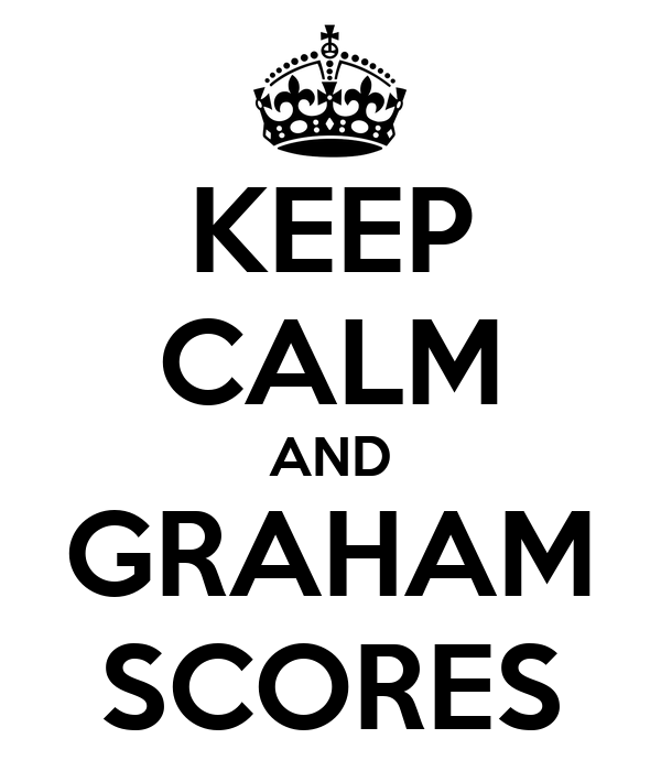 KEEP CALM AND GRAHAM SCORES