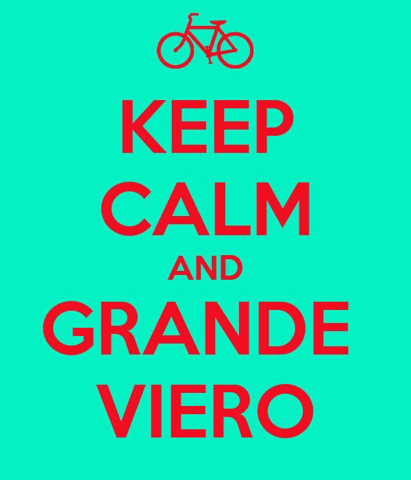 KEEP CALM AND GRANDE  VIERO