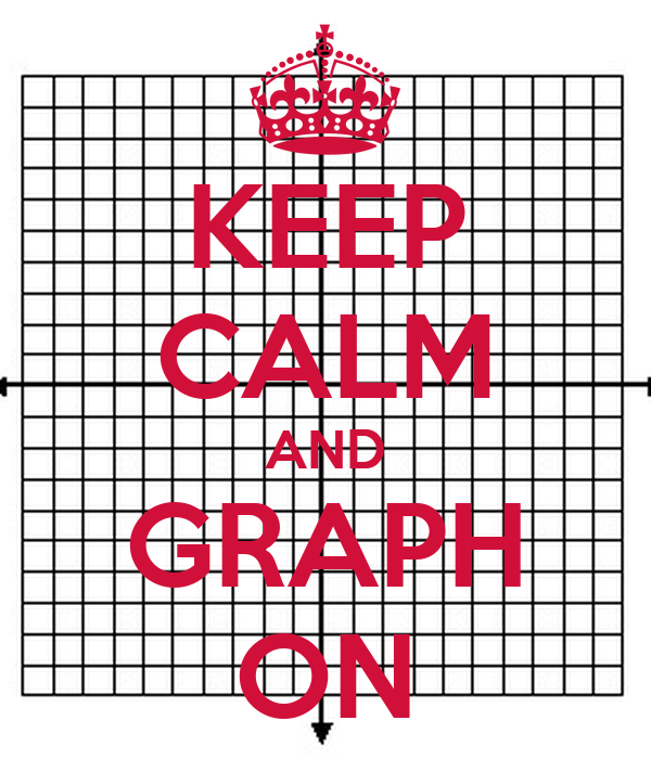KEEP CALM AND GRAPH ON
