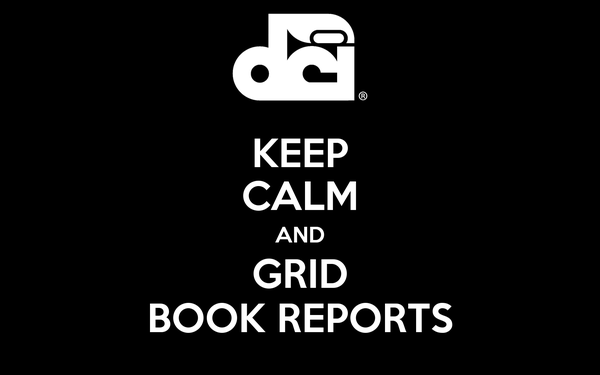 KEEP CALM AND GRID BOOK REPORTS