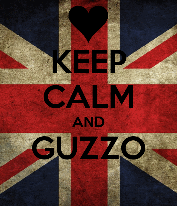 KEEP CALM AND GUZZO