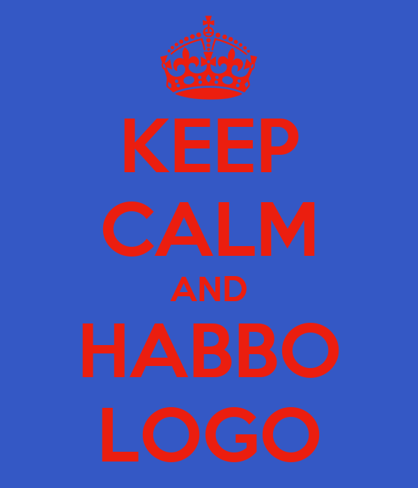 KEEP CALM AND HABBO LOGO