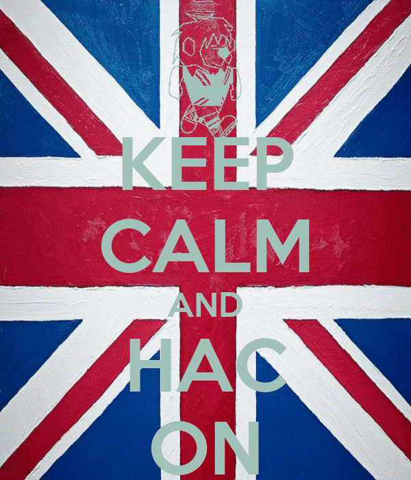 KEEP CALM AND HAC ON