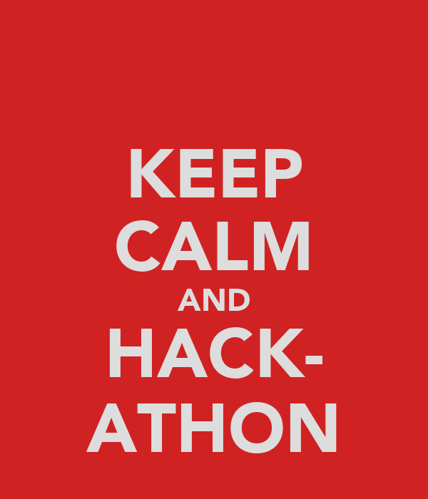 KEEP CALM AND HACK- ATHON
