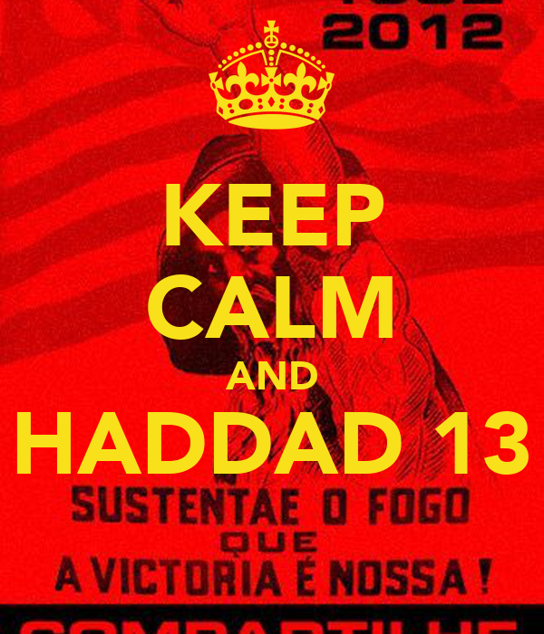 KEEP CALM AND HADDAD 13