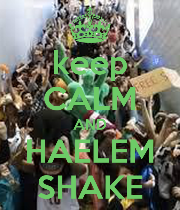 keep CALM AND HAELEM SHAKE