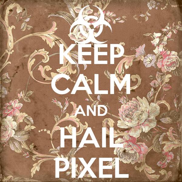 KEEP CALM AND HAIL PIXEL